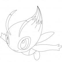 Coloriage Pokémon Celebi