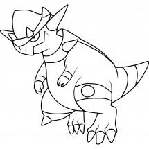 Coloriage Pokémon Charkos