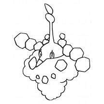 Coloriage Pokémon Cheniselle cape Sable