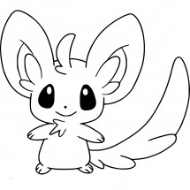 Coloriage Pokémon Chinchidou