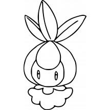 Coloriage Pokémon Chlorobule