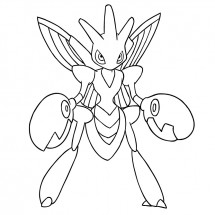 Coloriage Pokémon Cizayox