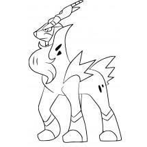 Coloriage Pokémon Cobaltium