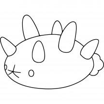 Coloriage Pokémon Concombaffe