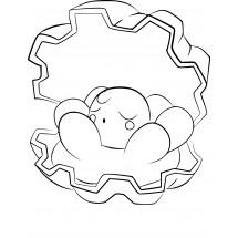 Coloriage Pokémon Coquiperl