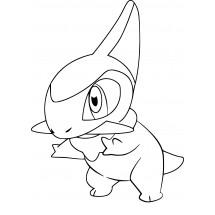 Coloriage Pokémon Coupenotte