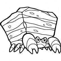 Coloriage Pokémon Crabaraque