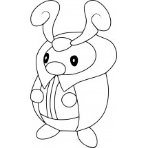 Coloriage Pokémon Crizkik