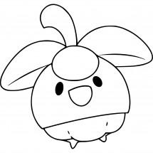 Coloriage Pokémon Croquine