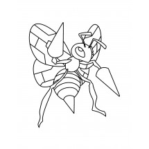 Coloriage Pokémon Dardagnan