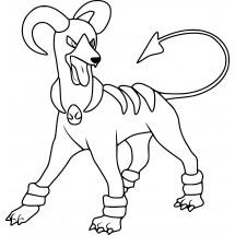 Coloriage Pokémon Démolosse