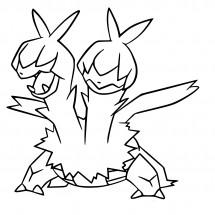 Coloriage Pokémon Diamat
