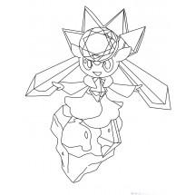 Coloriage Pokémon Diancie