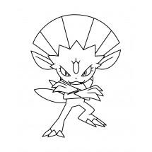 Coloriage Pokémon Dimoret