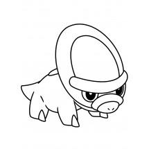 Coloriage Pokémon Dinoclier
