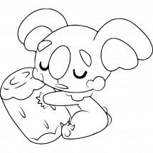 Coloriage Pokémon Dodoala