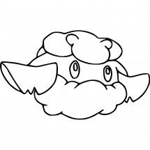 Coloriage Pokémon Doudouvet