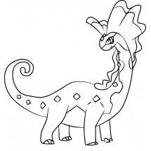 Coloriage Pokémon Dragmara