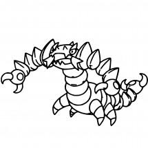 Coloriage Pokémon Drascore