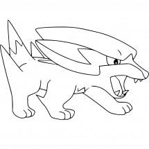 Coloriage Pokémon Dynavolt
