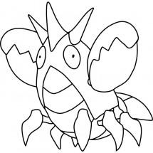 Coloriage Pokémon Écrapince