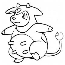 Coloriage Pokémon Écrémeuh