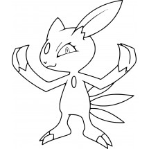 Coloriage Pokémon Farfuret
