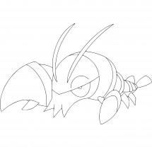 Coloriage Pokémon Flingouste