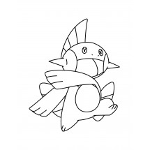 Coloriage Pokémon Flobio