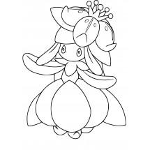 Coloriage Pokémon Fragilady