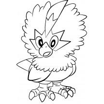 Coloriage Pokémon Furaiglon