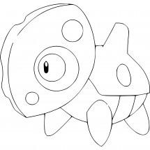 Coloriage Pokémon Galekid