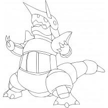 Coloriage Pokémon Galeking