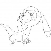 Coloriage Pokémon Galvaran