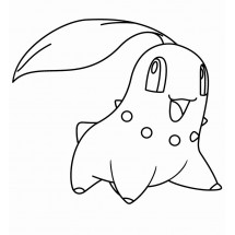 Coloriage Pokémon Germignon