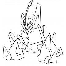 Coloriage Pokémon Gigalithe