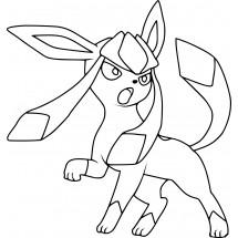 Coloriage Pokémon Givrali