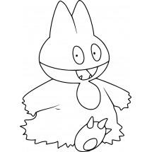 Coloriage Pokémon Goinfrex