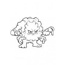 Coloriage Pokémon Gravalanch