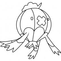 Coloriage Pokémon Grodrive