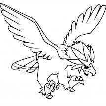 Coloriage Pokémon Gueiriaigle
