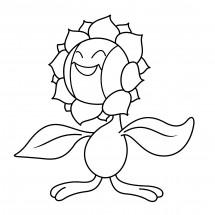 Coloriage Pokémon Héliatronc