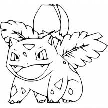 Coloriage Pokémon Herbizarre