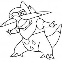 Coloriage Pokémon Incisache