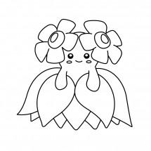 Coloriage Pokémon Joliflor