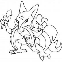 Coloriage Pokémon Kadabra