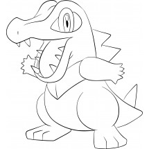 Coloriage Pokémon Kaiminus