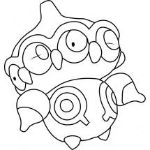 Coloriage Pokémon Kaorine