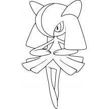Coloriage Pokémon Kirlia