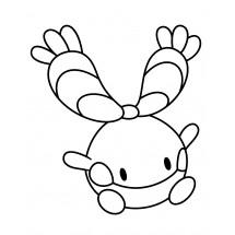 Coloriage Pokémon Korillon